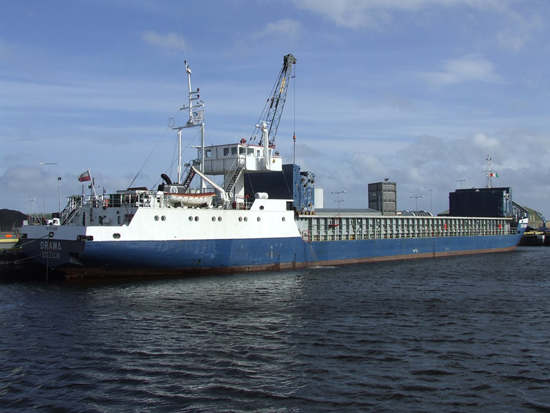 Polish Cargo Ship Drawa