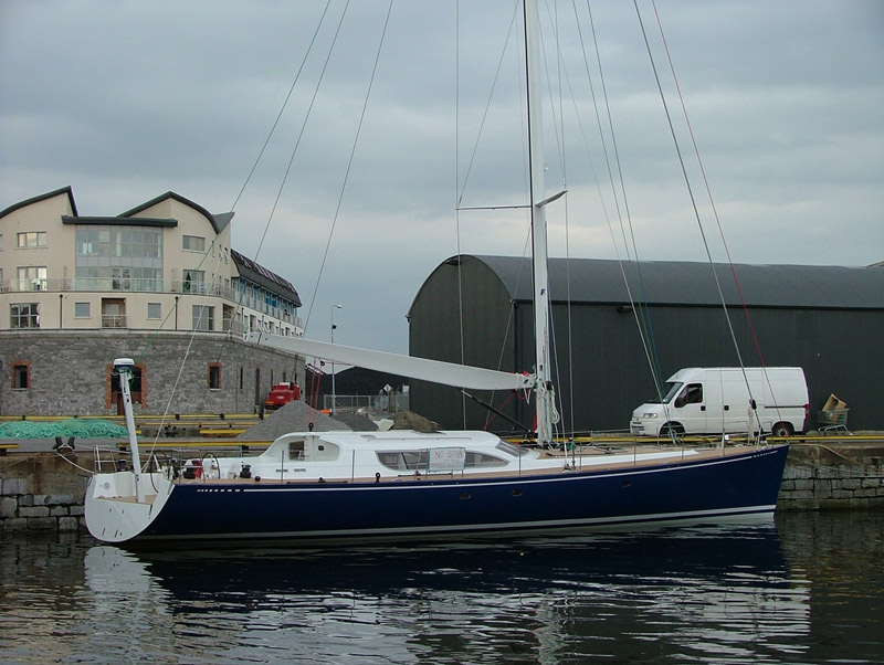 John Killeen's home designed & built yacht