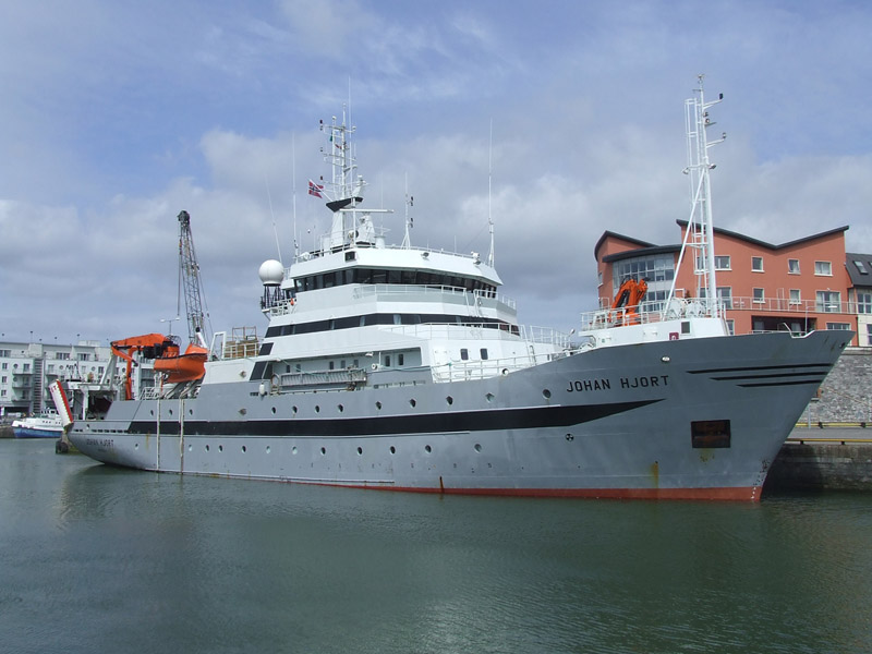 Norwegian Research Vessel Johan Hjort