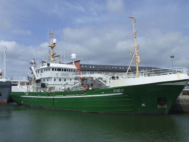 Norwegian Research Vessel Rottingoy