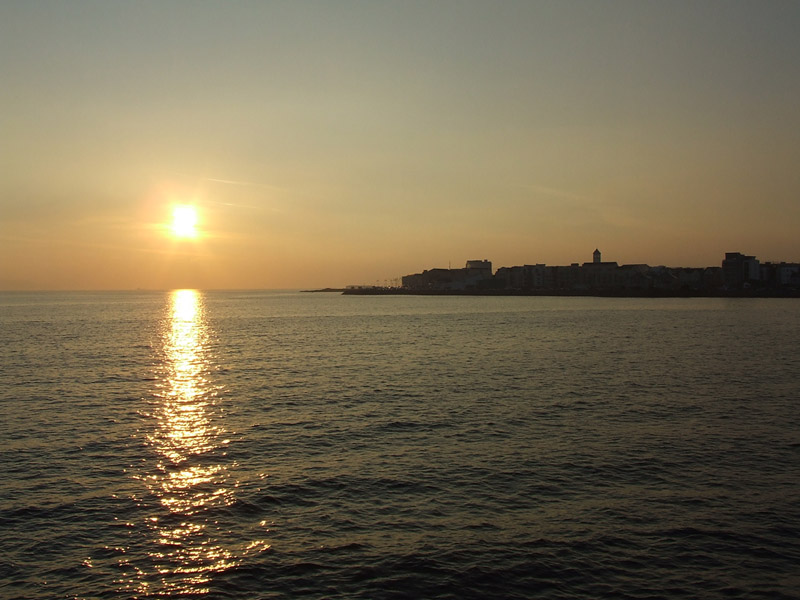 Sunset over Salthill