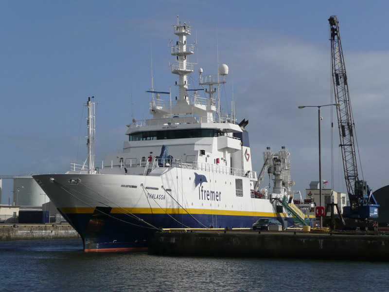 French Research Vessel Thalassa