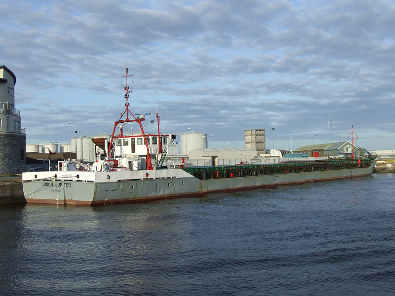 Coal Ship Union Jupiter