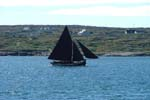 Galway Hooker in Carraroe Bay