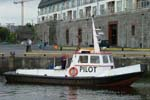 John McGrath on Galway Pilot Boat