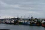 Trawlers tied up at Rossaveal, Co. Galway